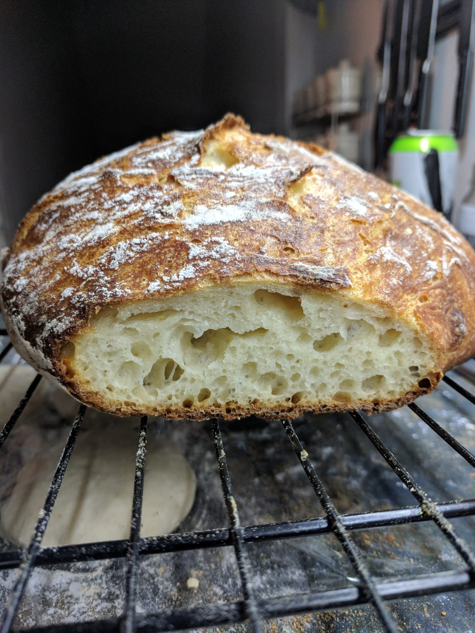 The Easiest No-Knead Bread Ever