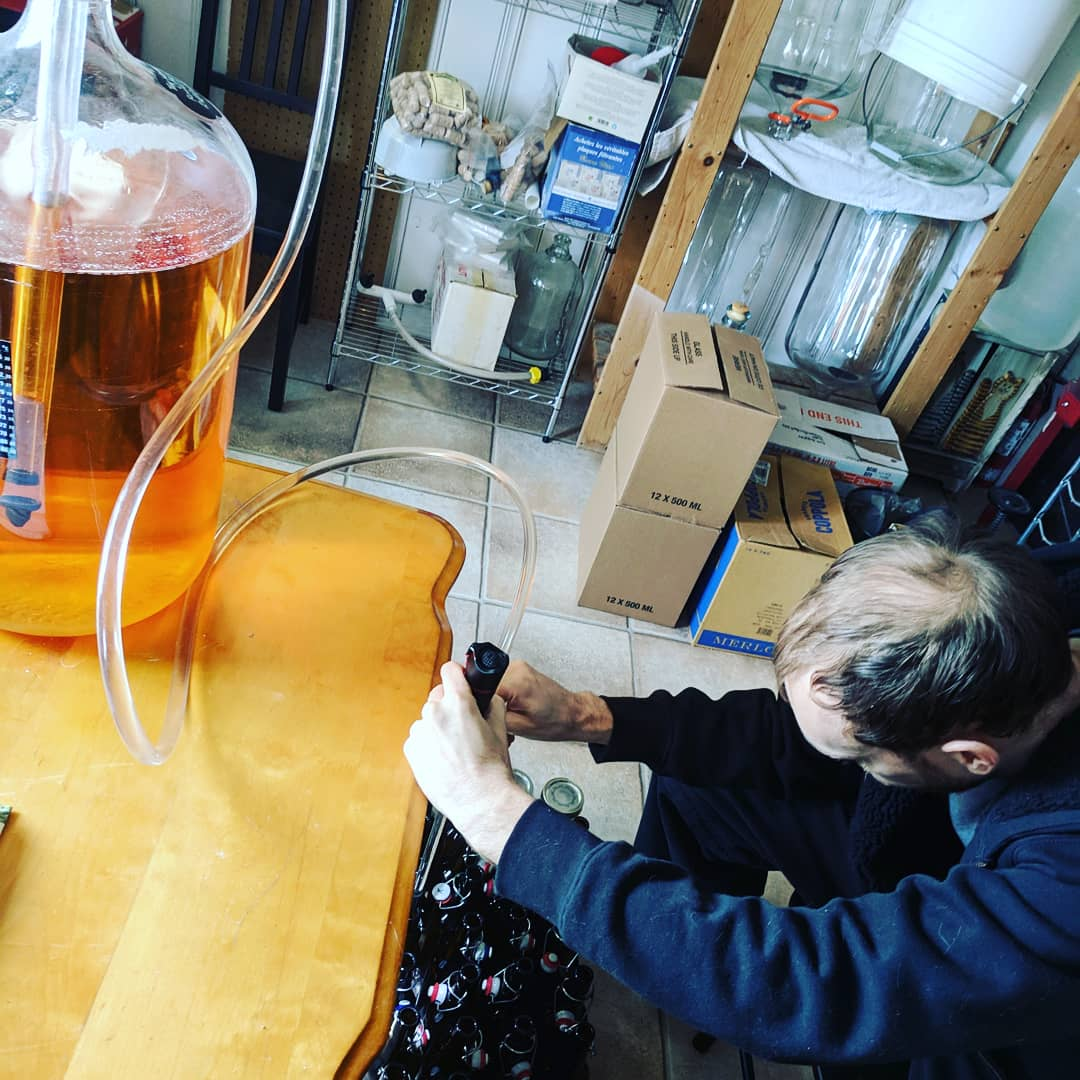 cider bottling