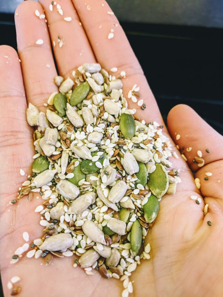 seed/grain  mixture