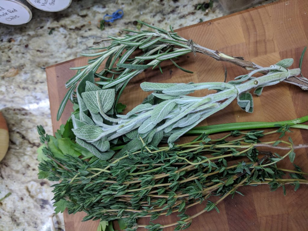herbs for stock