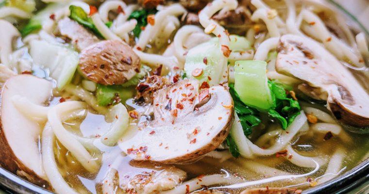 Pork & Ramen Miso Soup