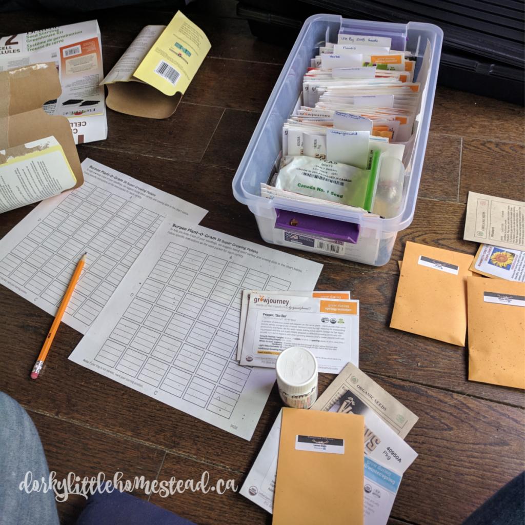 Seed organizing