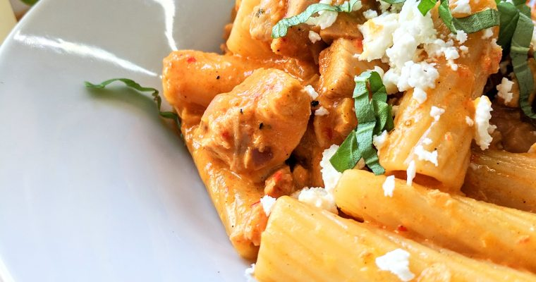 Roasted Red Pepper Pasta