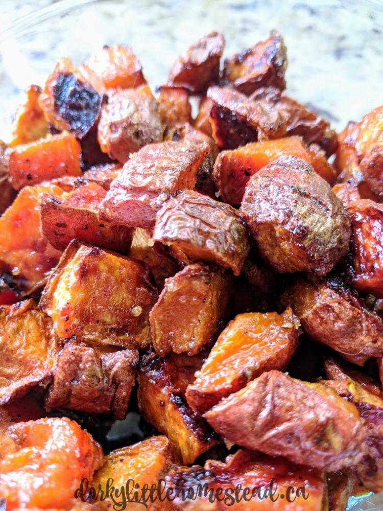 sugary sweet potatoes