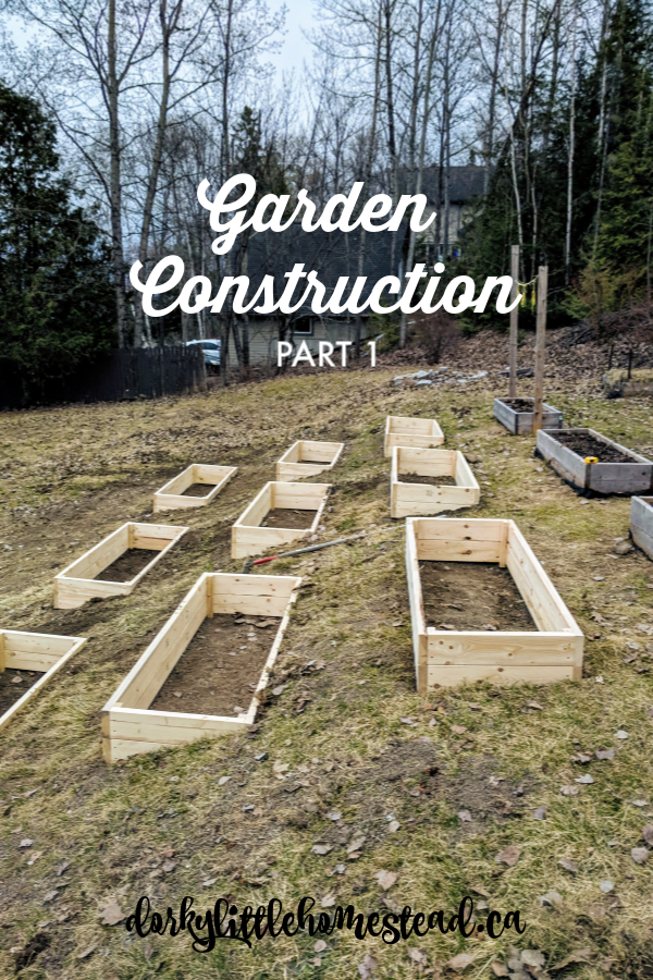 Follow along as we build our new and improved raised bed vegetable garden.