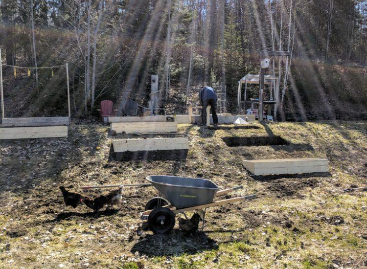 Garden Construction Part 1