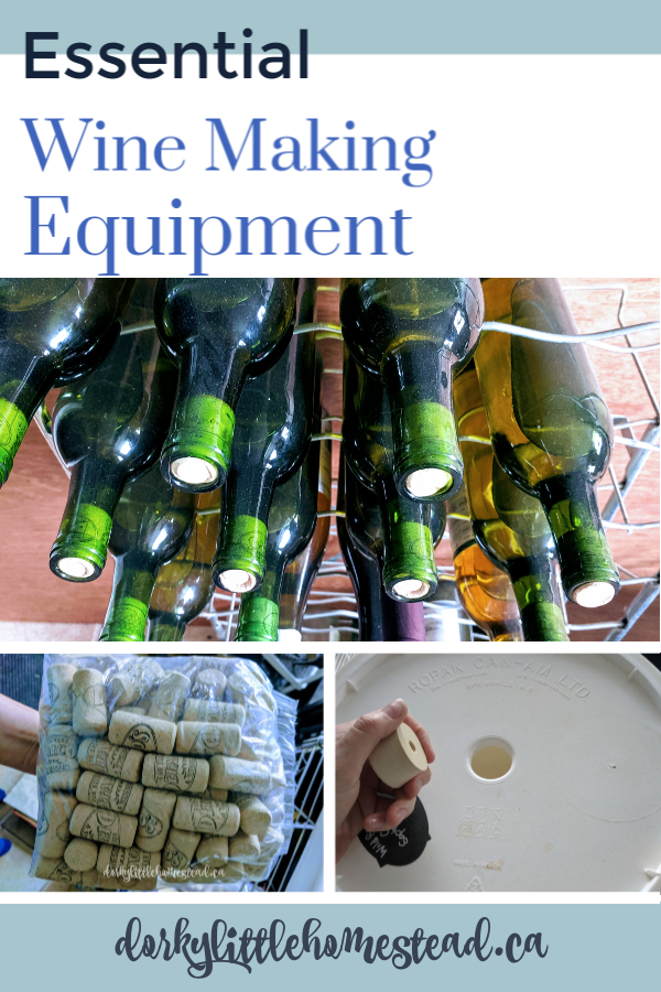 Wine Making Equipment. A list and description of the most important tools and pieces of equipment you'll need to start your wine making adventures.