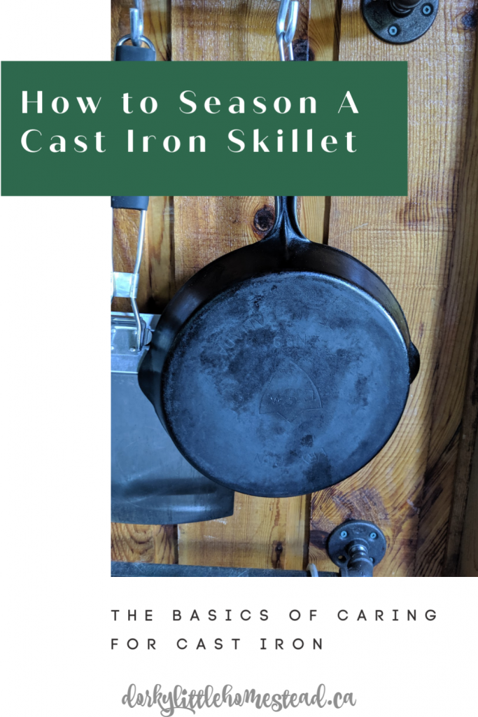A science based, easy way of seasoning and caring for your cast iron. Caring for your cast iron doesn't need to be hard!