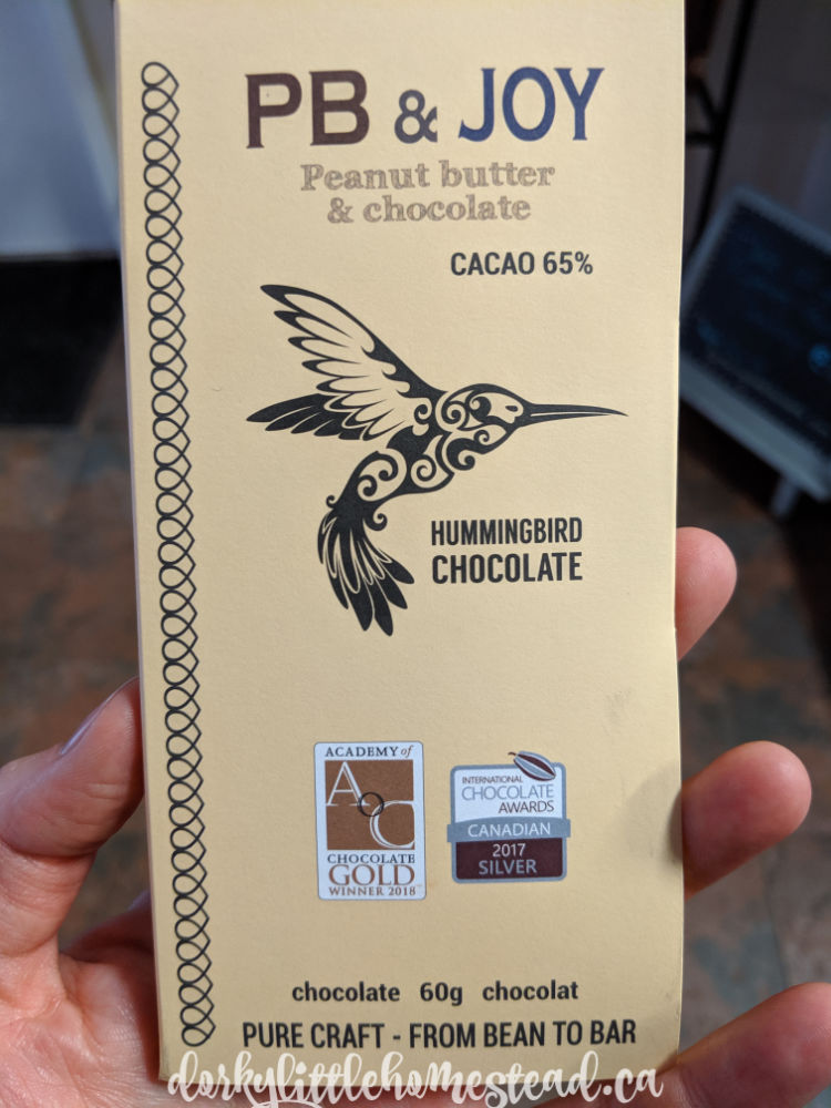 Loaded with roasted whole peanuts this chocolate is the perfect chocolate to use in cookies.