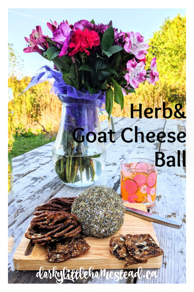 This cheese ball is the perfect simple appetizer to add to your next cocktail party, or cheese board.