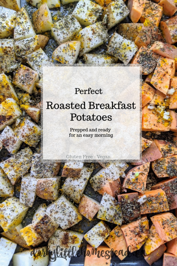 A simple and delicious addition to your weekly food prep. The breakfast potatoes can make your weekday mornings a little yummier.