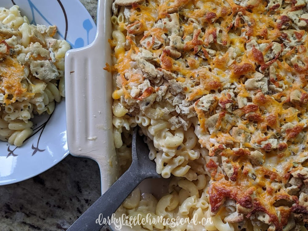 Mac & Cheese perfect for weeknight meal prep