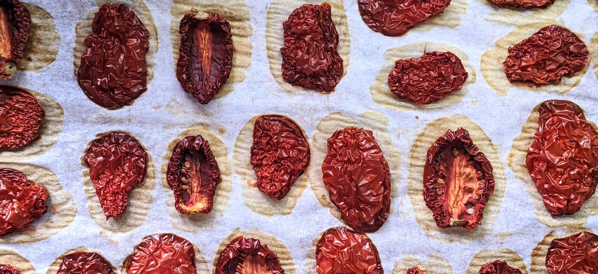 Drying Tomatoes: In the Oven or the Dehydrator.