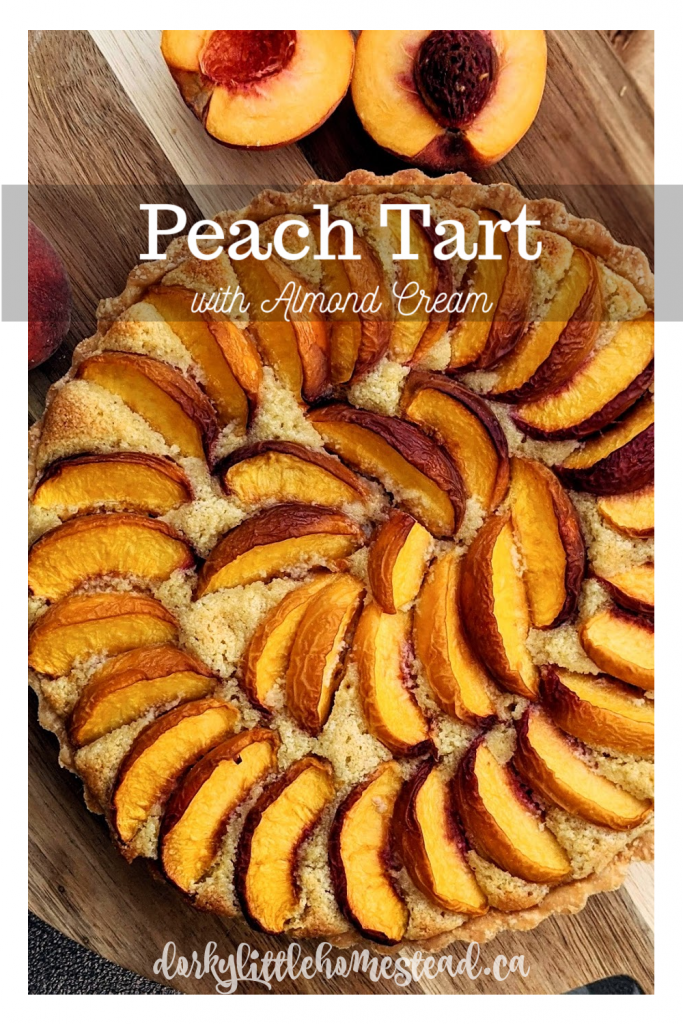 This simple Peach Tart combines peaches and almonds so beautifully. Served with Ice cream and something bubbly to drink; you'll be in heaven!