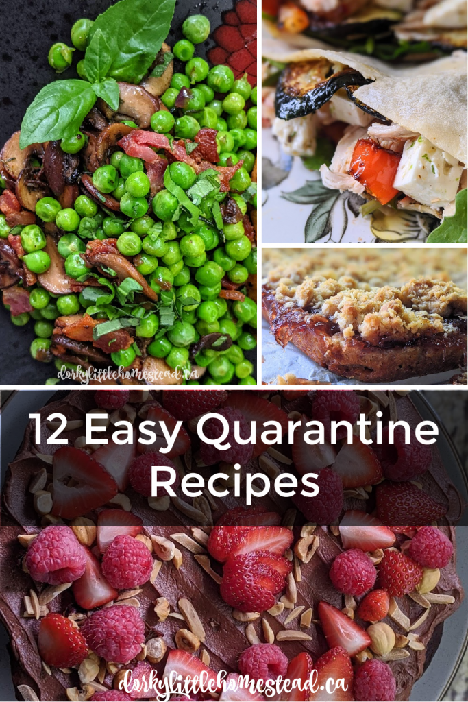 12 Easy Quarantine Recipes