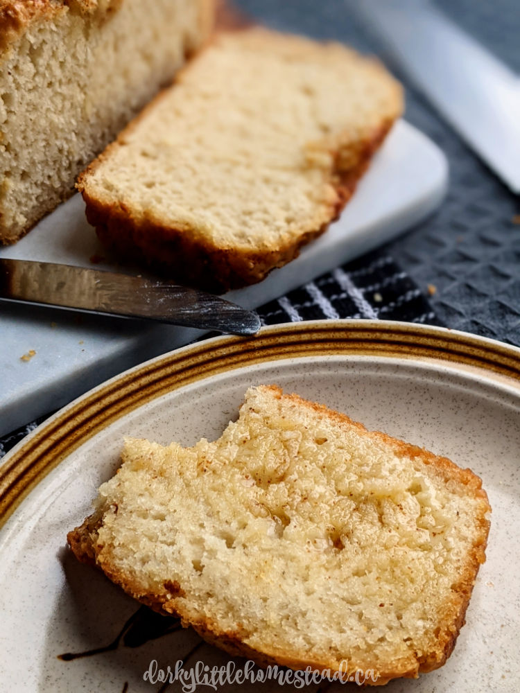 brown butter beer bread