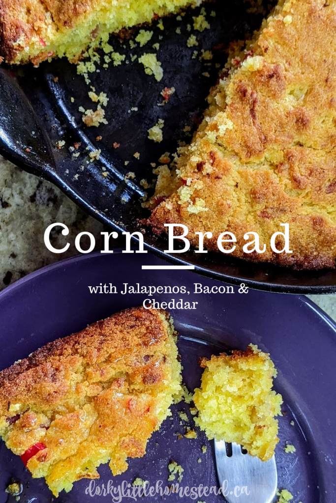 For the first day of Breadmas, Jalapeno Cheddar Cornbread! Simple, classic, and buttery. Perfect for fall meals.