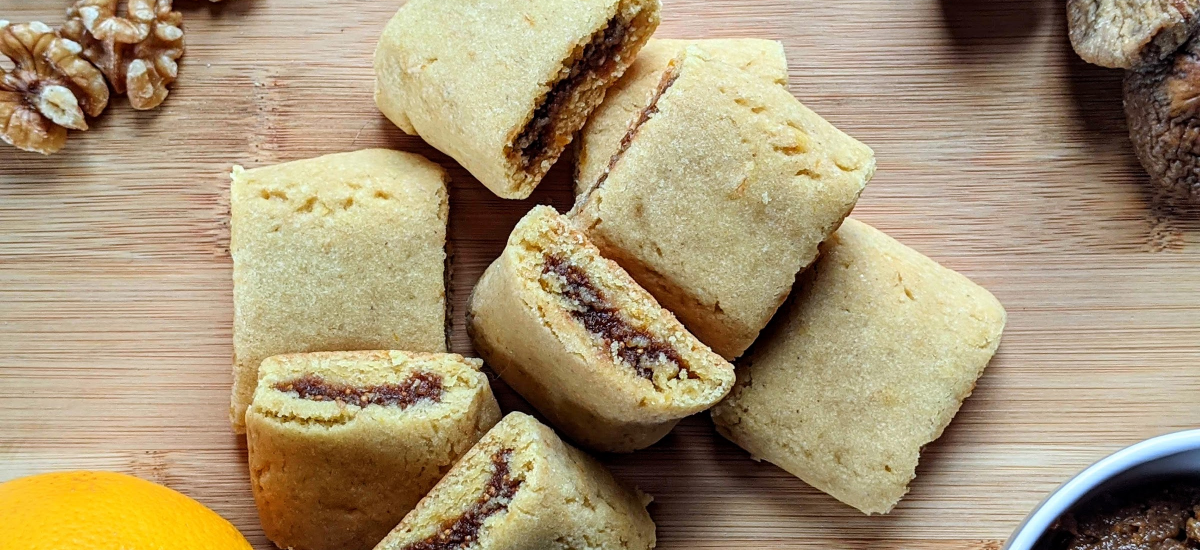 Homemade Fig Newton Cookies