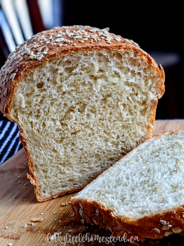 Oat & Honey Bread
